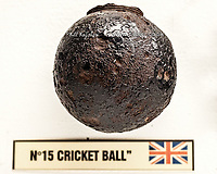 British WWI Cricket Ball Grenade.