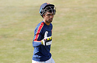 Feroze Khushi heads back to the dressing room prior to Essex CCC vs Kent CCC, Bob Willis Trophy Cricket at The Cloudfm County Ground on 3rd August 2020