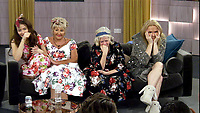 Jess Impiazzi, Maggie Oliver, Ann Widdecombe and India Willoughby.<br /> Celebrity Big Brother 2018 - Day 10<br /> *Editorial Use Only*<br /> CAP/KFS<br /> Image supplied by Capital Pictures
