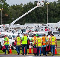 Lake City processing city during Hurricane Dorian in Lake City, Fla. on September 4, 2019