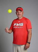 NWA Democrat-Gazette/SPENCER TIREY  <br /> Randy Osnes of Farmington High School Softball Coach names 2018 NWADG Softball Coach of the Year.