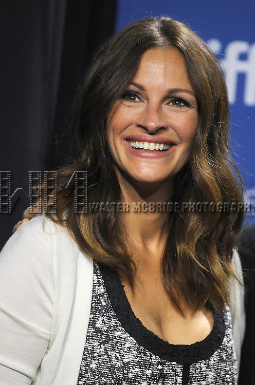 "Julia Roberts attending the 2013 Tiff Film Festival Photo Call for ""August: Osage County""  at the Tiff Bell Lightbox on September 10, 2013 in Toronto, Canada."