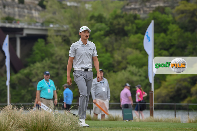 HaoTong Li (CHN) heads down 13 during day 3 of the WGC Dell Match Play, at the Austin Country Club, Austin, Texas, USA. 3/29/2019.<br /> Picture: Golffile | Ken Murray<br /> <br /> <br /> All photo usage must carry mandatory copyright credit (© Golffile | Ken Murray)