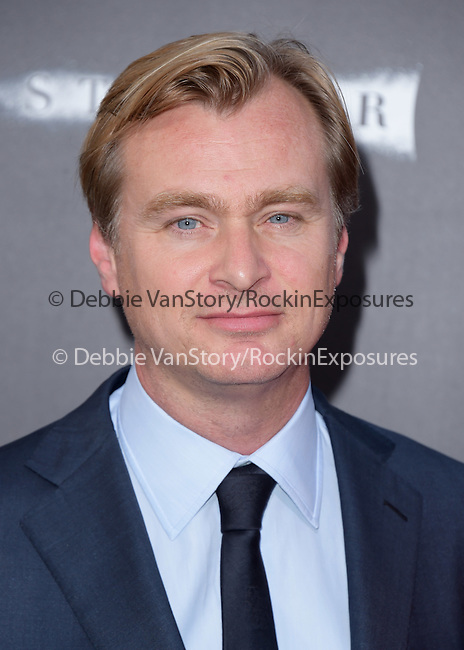 Christopher Nolan attends The Los Angeles premiere of INTERSTELLAR, from Paramount Pictures and Warner Brothers Pictures held at The TCL Chinese Theatre in Hollywood, California on October 26,2014                                                                               © 2014 Hollywood Press Agency