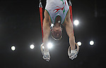 Wales' Robert Sansby competes in the <br /> <br /> Gymnastics artistic - Team final & Individual Qualification <br /> <br /> Photographer Chris Vaughan/Sportingwales<br /> <br /> 20th Commonwealth Games - Day 5 - Monday 28th July 2014 - Gymnastics artistic - The SSE Hydro - Glasgow - UK
