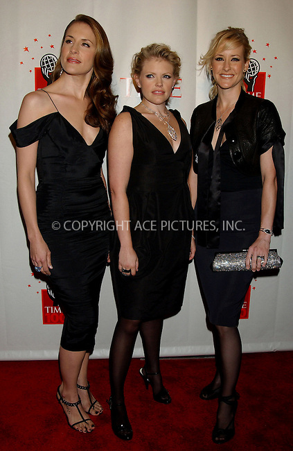 WWW.ACEPIXS.COM . . . . . ....NEW YORK, MAY 8, 2006....The Dixie Chicks at Time Magazine's 100 Most Influential People 2006.....Please byline: KRISTIN CALLAHAN - ACEPIXS.COM.. . . . . . ..Ace Pictures, Inc:  ..(212) 243-8787 or (646) 679 0430..e-mail: picturedesk@acepixs.com..web: http://www.acepixs.com
