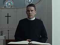 FIRST REFORMED (2018)<br /> ETHAN HAWKE<br /> *Filmstill - Editorial Use Only*<br /> CAP/FB<br /> Image supplied by Capital Pictures