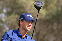 Victor Perez (FRA) in action during round 3, Ras Al Khaimah Challenge Tour Grand Final played at Al Hamra Golf Club, Ras Al Khaimah, UAE. 02/11/2018<br /> Picture: Golffile | Phil Inglis<br /> <br /> All photo usage must carry mandatory copyright credit (&copy; Golffile | Phil Inglis)
