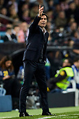 17th March 2019, Mestalla Stadium, Valencia, Spain; La Liga football, Valencia versus Getafe; Valencia CF Head coach Marcelino Garcia Toral gestures