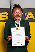 Touch Girls winner Charlotte Davis from Manurewa High School. ASB College Sport Young Sportsperson of the Year Awards held at Eden Park, Auckland, on November 11th 2010.