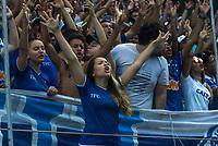 BELO HORIZONTE,MG, 12.03.2017 – AMERICA - CRUZEIRO– Torcida do Cruzeiro durante partida contra o America em jogo válido pela sétima rodada do Campeonato Mineiro, na Arena Independência, em Belo Horizonte, neste domingo, 12.  (Foto: Doug Patricio/Brazil Photo Press)