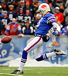 9 December 2007: Buffalo Bills punter Brian Moorman in action against the Miami Dolphins at Ralph Wilson Stadium in Orchard Park, NY. The Bills defeated the Dolphins 38-17. ..Mandatory Photo Credit: Ed Wolfstein Photo