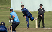 Cricket Scotland - the Citylets Scottish Cup Final between Carlton CC V Heriots CC at Meikleriggs, Paisley (Ferguslie CC) - Heriots bowling - picture by Donald MacLeod - 25.08.19 - 07702 319 738 - clanmacleod@btinternet.com - www.donald-macleod.com