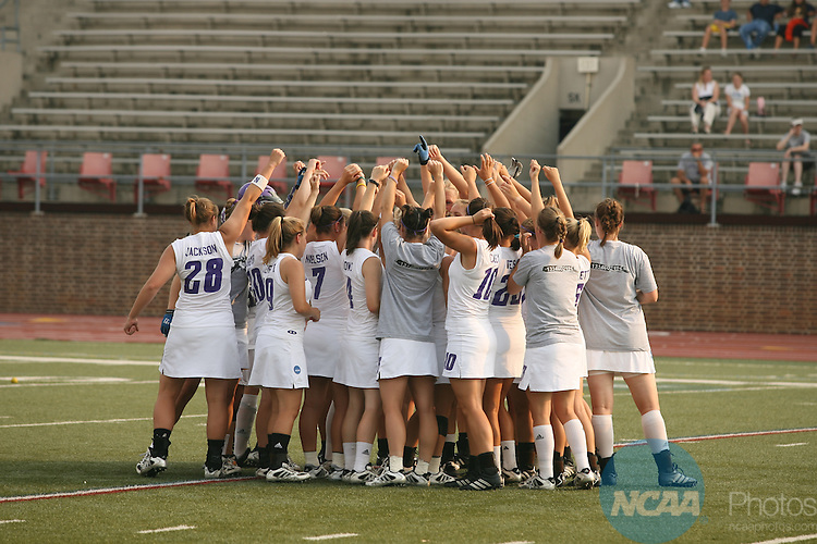 27 MAY 2007:  Northwestern University takes on the University of Virginia during the Division I Women's Lacrosse Championship held at Franklin Field on the University of Pennsylvania campus in Philadelphia, PA.  Jamie Schwaberow/NCAA Photos