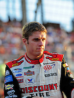 Aug 30, 2008; Fontana, CA, USA; NASCAR Nationwide Series driver David Ragan during the Camping World 300 at Auto Club Speedway. Mandatory Credit: Mark J. Rebilas-
