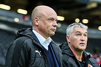 Fleetwood Town's manager Uwe Rosler with assistant head coach Rob Kelly<br /> <br /> Photographer Andrew Kearns/CameraSport<br /> <br /> The EFL Sky Bet League One - Milton Keynes Dons v Fleetwood Town - Saturday 11th November 2017 - Stadium MK - Milton Keynes<br /> <br /> World Copyright &copy; 2017 CameraSport. All rights reserved. 43 Linden Ave. Countesthorpe. Leicester. England. LE8 5PG - Tel: +44 (0) 116 277 4147 - admin@camerasport.com - www.camerasport.com