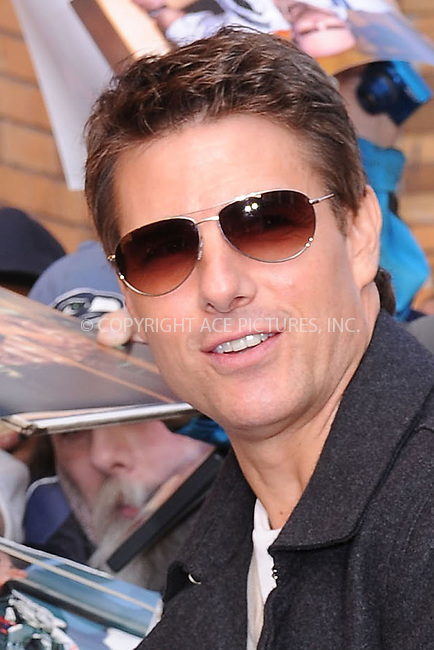 WWW.ACEPIXS.COM . . . . . .April 16, 2012...New York City....Tom Cruise at a taping of an appearance on the Daily Show with Jon Stewart on April 16, 2012 in New York City. ....Please byline: KRISTIN CALLAHAN - WWW.ACEPIXS.COM.. . . . . . ..Ace Pictures, Inc: ..tel: (212) 243 8787 or (646) 769 0430..e-mail: info@acepixs.com..web: http://www.acepixs.com .