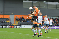 Daniel Sparkes Of Barnet scores the first Goal and celebrates during Barnet vs Stockport County, Emirates FA Cup Football at the Hive Stadium on 2nd December 2018