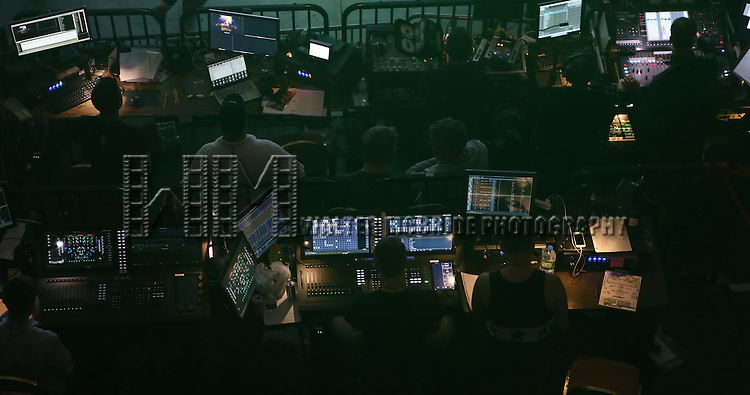 The soundboard at Broadway Cares/Equity Fights AIDS' <br /> &quot;Broadway Bares, Rock Hard!&quot; at Hammerstein Ballroom June 22, 2014 in New York City.