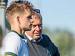 ROTTERDAM- Tilburg-Rotterdam . coach Albert Kees Manenschijn (Rdam) met Tristan Algera.   ABN AMRO CUP 2019 COPYRIGHT KOEN SUYK.