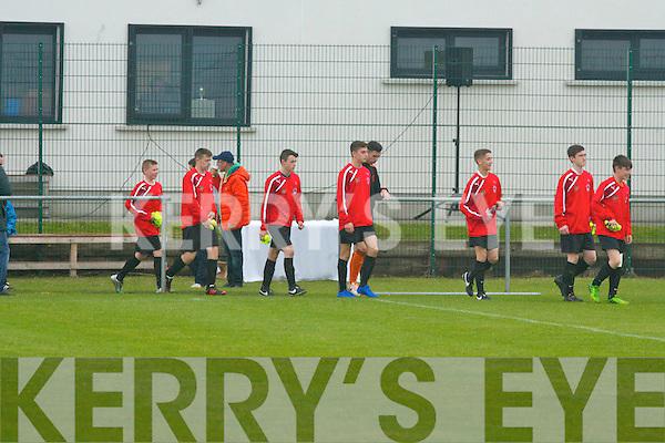 Park FC v St Kevins Boys Dublin in the National Cup U-16 Final in Dublin on Sunday.