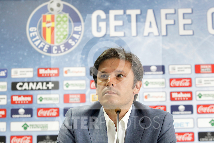 Getafe's General Manager Toni Munoz. July 21, 2014. (ALTERPHOTOS/Acero)
