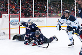 Adam Huska (UConn - 30), Maxim Letunov (UConn - 27), Mitchell Fossier (Maine - 11) - The University of Maine Black Bears defeated the University of Connecticut Huskies 4-0 at Fenway Park on Saturday, January 14, 2017, in Boston, Massachusetts.