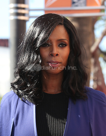 "Hollywood, CA - DECEMBER 02: Tasha Smith, At Lee Daniels Honored With Star On The Hollywood Walk Of Fame"" At Pacific Theatres at the Hollywood Walk Of Fame, California on December 02, 2016. Credit: Faye Sadou/MediaPunch"