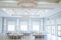The newly renovated Rose Island Ballroom is seen at Gurney's Newport Resort and Marina, which was formerly a Hyatt Regency hotel, on Goat Island in Newport, Rhode Island, on Wed., April 19, 2017. The entire hotel will be renewed with an approximately $18 million renovation to be completed by Memorial Day 2017. Almost everything in the ballroom was replaced. The windows at rear will soon be replaced with doors that open to a deck.