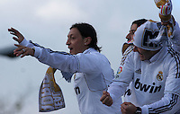 32.05.2012 SPAIN - 2012 Spain Festival celebration champion Real Madrid La Liga 32nd May 03rd. The picture show Mesut Ozil (German midfielder of Real Madrid)