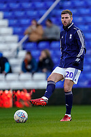 1st February 2020; St Andrews, Birmingham, Midlands, England; English Championship Football, Birmingham City versus Nottingham Forest; Gary Gardner of Birmingham City warms-up prior to the match