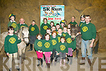 NEW CLUB: Pictured at their new facility in Ballymac last Friday night are members of the Kingdom branch of the Irish Pony Club, who will be holding a series of fundraising events for their new club, beginning on January 5th next with a 5km walk or jog starting at Crag Cave at noon.