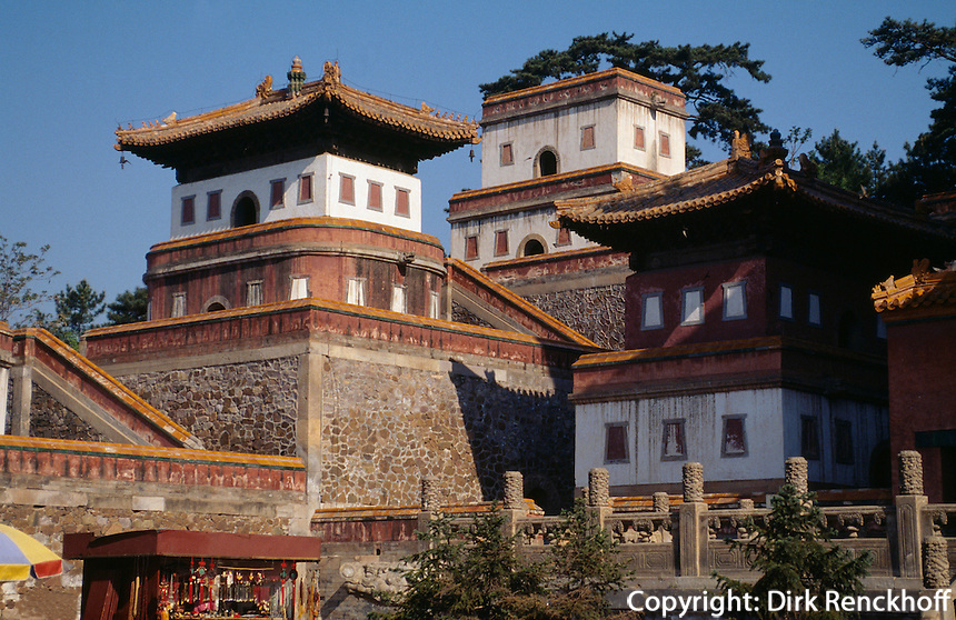 Puning Si-Tempel in Chengde, China, Unesco-Weltkulturerbe
