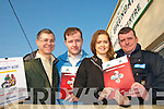 HELPING HAND: Members of the Ballymacelligott Community Alert who have ambitious plans for safety and well-being in their parish..L/r. Rico Stein, Fionnan Fitzgerald, Ann McEllistrim and Garda Pat Rice.   Copyright Kerry's Eye 2008