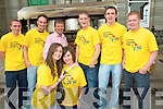 Niall Mellon Fundraiser: Pictured at the Niall Mellon fundraising barbque at Christy's Well Bar, The Square, Listowel on Sunday were in front: Dana Scannell & Neadhbh Griffin. Back: Johnny Barry, Mike Nash, John Fitzmaurice, Austin Quilter, Paudie Galvin & Bob Brosnan.