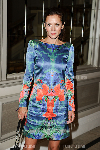 Anna Friel arriving at the Temperley catwalk show as part of London Fashion Week SS13, New Connaught Rooms, Covent Garden, London. 16/09/2012 Picture by: Steve Vas / Featureflash
