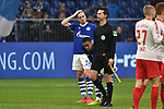 16.03.2019, VELTINS-Arena, Gelsenkirchen, GER, DFL, 1. BL, FC Schalke 04 vs RB Leipzig, DFL regulations prohibit any use of photographs as image sequences and/or quasi-video<br /> <br /> im Bild unzufrieden / enttaeuscht / niedergeschlagen / frustriert, nach dem Schlusspfiff  v.l. Bastian Oczipka (#24, FC Schalke 04) Weston McKennie (#2, FC Schalke 04) <br /> <br /> Foto © nph/Mauelshagen