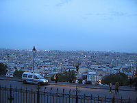 View of Paris from Sacre Couer