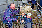 Peter, Filip and Sofia Rybansky, Tralee  enjoying the Abbeydorney Ploughing Match on Sunday