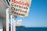Cornish Clotted Cream Flag
