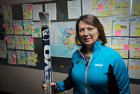 Robin Kornfield, Executive Director of Nordic Journeys Inc., whose programs include NANANordic, Skiku and SkikuBiathlon. Her programs bring volunteer coaches, ski equipment and passion to teach children and adults in Alaska's rural communities how to ski. Kornfield earned her MBA at UAA.
