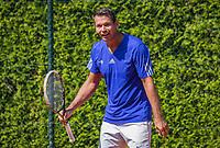 Etten-Leur, The Netherlands, August 27, 2017,  TC Etten, NVK, Niels de Kok (NED)<br /> Photo: Tennisimages/Henk Koster