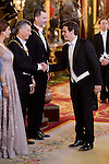 Queen Letizia, Juliana Awada, President of Argentine Republic, Mauricio Macri, King Felipe VI of Spain and secretary of Ciudadanos, Albert Rivera  during the gala dinner given to the President of the Argentine Republic, Sr. Mauricio Macri and Sra Juliana Awada at Real Palace in Madrid, Spain. February 19, 2017. (ALTERPHOTOS/BorjaB.Hojas)