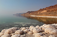 Jordanian east coast of the Dead Sea, Jordan Rift Valley, Jordan, Middle East. Picture by Manuel Cohen