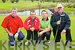 GOLF: Competing in the Four Ball Versus Par at the Ardfert Golf Club on Sunday l-r: Andy Cane, Steven Nellings, Gary Kavanagh and Owen Moynihan.