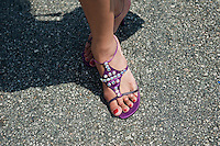 Woman's Jeweled Shoes, LA Pride 2010 West Hollywood, CA Parade