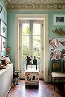 glass balcony door