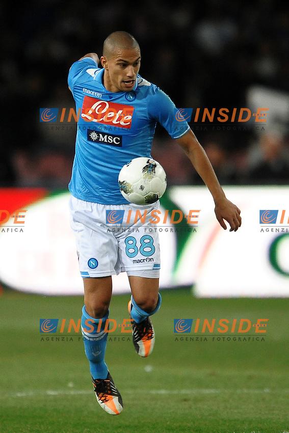 "Gokhan INLER Napoli.Napoli 15/10/2011 Stadio ""San Paolo"".Football Calcio Serie A 2011/2012 .Napoli Vs Parma.Foto Insidefoto Andrea Staccioli"