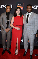 "LOS ANGELES - FEB 20:  Cory Hardrict, Katrina Law, Curtis Jackson at ""The Oath"" Season 2 Screening Event  at the Paloma on February 20, 2019 in Hollywood, CA"