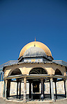 Israel, Jerusalem Old City. The Dome of the Chain in front of the Dome of the Rock&#xA;&#xA;<br />
